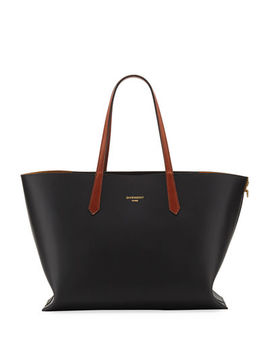 Givenchy Gv Medium Smooth Leather Shopper Tote Bag by Givenchy