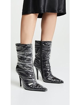 Plastify 2 Point Toe Boots by Jeffrey Campbell