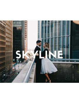 10 Mobile Presets  For Lightroom Skyline Lightroom Preset For Photographers   Dark And Moody Urban Film Like Qualities by Etsy