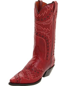 Dan Post Women's Sidewinder Western Boot,Red,7.5 M Us by Dan Post
