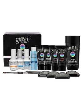 Gelish Harmony 18 G Led Curing Lamp + Poly Gel Professional Enhancement Master Kit by Gelish