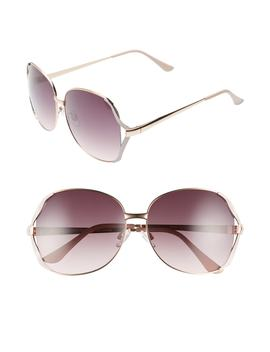 60mm Square Butterfly Sunglasses by Leith