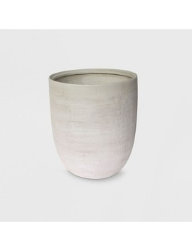 """14"""" Textured Ceramic Planter White   Project 62™ by Shop This Collection"""