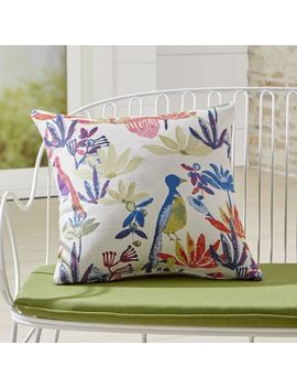 "Tropic 20"" Sq. Outdoor Pillow by Crate&Barrel"