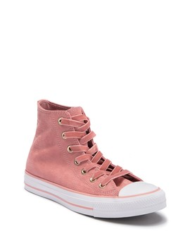Chuck Taylor All Star Embossed Velvet High Top Sneaker (Women) by Converse