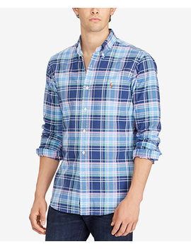 Men's Classic Fit Oxford Shirt by Polo Ralph Lauren