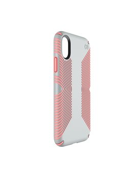 Presidio Grip Iphone X Cases Dove Grey/Tart Pink by Speck