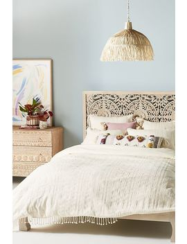 Woven Halley Duvet Cover by Anthropologie