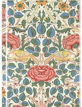 Rose By William Morris Foiled Journal (Hardcover) by Target