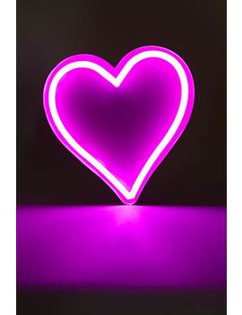 Heart Neon Marquee Light by Forever 21