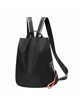 Backpack Purse For Women Waterproof Nylon Anti Theft Fashion Lightweight School Travel Shoulder Bag by Pincnel