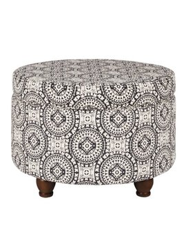 Home Pop Storage Ottoman, Multiple Colors by Home Pop
