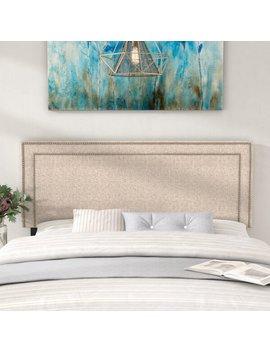 Fregoso Fabric Upholstered Panel Headboard by Ivy Bronx