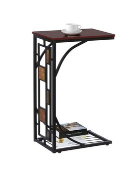 Living Room Sofa Side End Snack Table Tray Stand Rack by Yaheetech