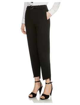 Palmy Step Hem Tailored Pants by Maje