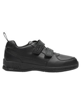 Clarks Children's Gloforms Maris Fire School Shoes, Black by Clarks