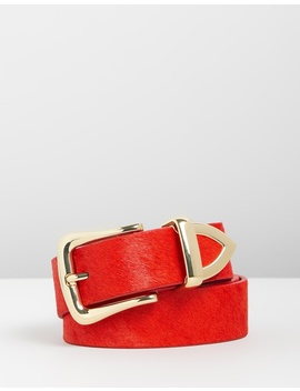 Clean Pony Belt by Topshop