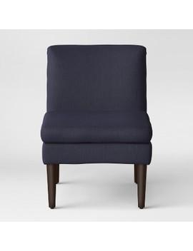 Winnetka Modern Slipper Chair Navy   Project 62™ by Project 62