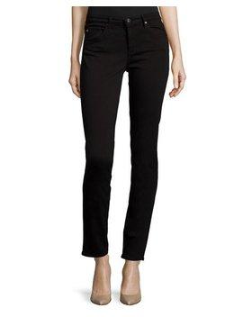 Ag Prima Mid Rise Skinny Jeans, Super Black by Ag