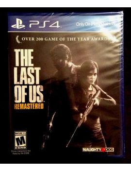 The Last Of Us Remastered (Sony Play Station 4, 2014) by Naughty Dog