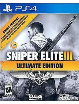 Sniper Elite Iii 3   Ultimate Edition (Sony Play Station 4, 2015) by 505
