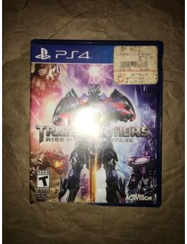 Used Ps4 Transformers Rise Of The Dark Spark by Square Enix