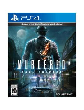 Play Station 4 : Murdered Soul Suspect Video Games by Ebay Seller