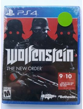 Wolfenstein: The New Order (Sony Play Station 4, 2014) Brand New! Free Shipping! by Ebay Seller