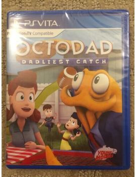 Octodad: Dadliest Catch (Sony Play Station Vita, 2016) Limited #11 Game by Ebay Seller