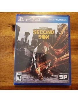 In Famous: Second Son (Sony Play Station 4, 2014) Brand New Ps4 by Ebay Seller