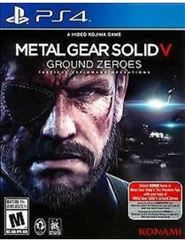 Metal Gear Solid V: Ground Zeroes (Sony Play Station 4, 2014) by Ebay Seller