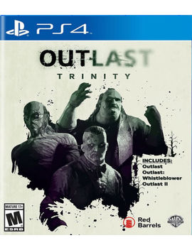 Outlast Trinity Ps4 New Play Station 4, Play Station 4 by Warner Home Video   Games