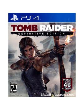 Tomb Raider: Definitive Edition Ps4 [Brand New] by Ebay Seller