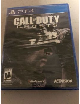 Call Of Duty Cod: Ghosts (Sony Play Station 4 Ps4) New Sealed Free Shipping by Ebay Seller