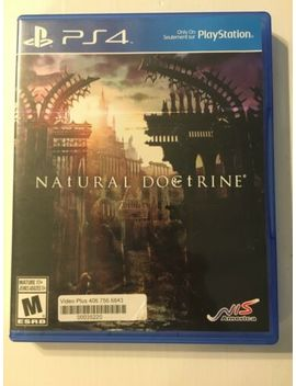 Natural Doctrine Ps4 Playstation 4 Usa Version Complete by Ebay Seller