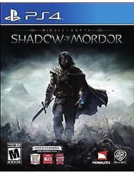 Play Station 4 : Middle Earth: Shadow Of Mordor   Play Sta Video Games by Ebay Seller