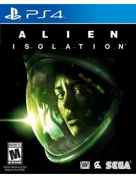 Alien Isolation Nostromo Edition  (Sony Play Station 4) Brand New / Region Free by Ebay Seller