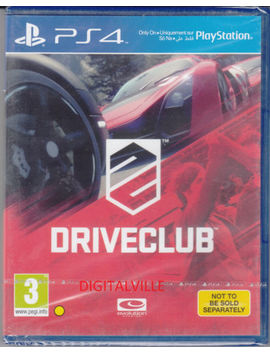 Driveclub Ps4 Sony Play Station 4 Brand New Factory Sealed by Ebay Seller