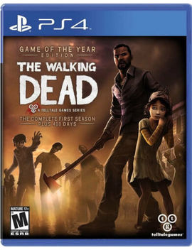 The Walking Dead: The Complete First Season Ps4 New Play Station 4, Playstation 4 by Telltale Games