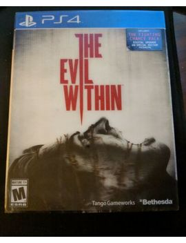 The Evil Within (Ps4) Special Edition Packaging Factory Sealed by Microsoft Xbox