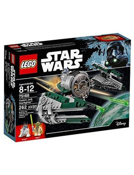 """Lego Star Wars Yoda's Jedi Starfighter 75168 Building Kit (262 Pieces) by Lego"