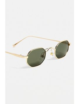 Uo Parks Gold Sunglasses by Urban Outfitters
