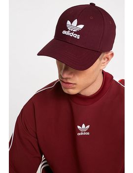 Adidas Trefoil Burgundy Dad Cap by Adidas
