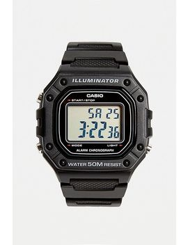 casio-illuminator-black-watch by casio