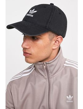 Adidas Black Acid Wash Cap by Adidas