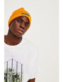 Uo Mustard Skate Beanie by Urban Outfitters