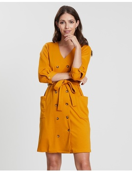 Ponte Shirt Dress by Dorothy Perkins