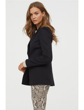 Double Breasted Jersey Jacket by H&M