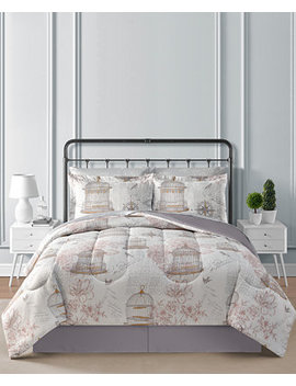 Closeout! Birdcage Reversible 8 Pc. Comforter Sets by Fairfield Square Collection