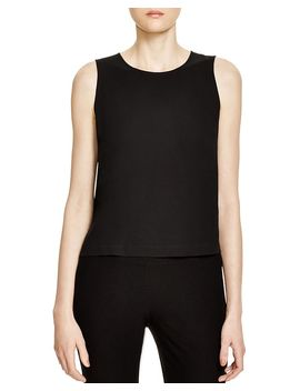 system-silk-crop-top by eileen-fisher-system